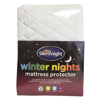 Silentnight Winter Nights Mattress Protector Double