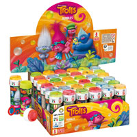 Official Trolls Novelty Soap Bubbles