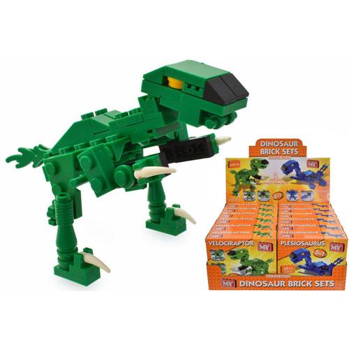 Dinosaur Bricks Sets 2 Assorted