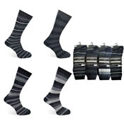 Mens Authentic Computer Socks Rugby Stripe