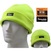 Hi Vis Thinsulate Beanie Hat Fleece