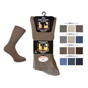 Mens Big Foot Non Elastic Socks