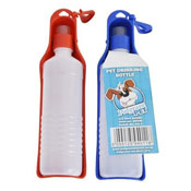 Pet Water Bottle 0.5l Flip Up With Drinking Tray