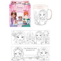 Princess Colouring Mug
