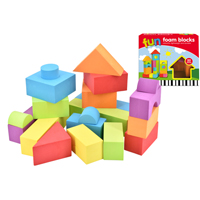 22 Piece EVA Fun Foam Blocks