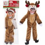Elf Reindeer With Antlers Outfit