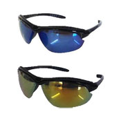Mens Half Frame Sports Style Sunglasses