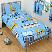 Official Manchester City FC Duvet Set