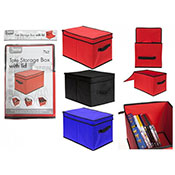Tote Storage Box With Lid Assorted
