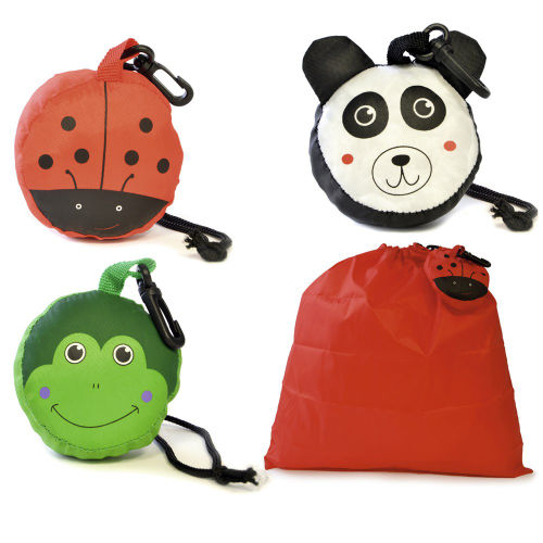Kids Novelty Folding Pump Bag In Pouch