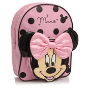 Deluxe Minnie Mouse Nursery Backpack With Bow