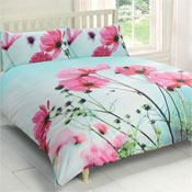 Urban Unique Poppies Duvet Set