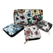 Ladies Card And Coin Purse With Digital Floral Prints