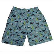 Boys Printed Swimming Shorts