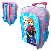 Official Disney Frozen Magic Deluxe Trolley Backpack