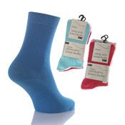 Girls Ventilated Non Elastic Cotton Socks