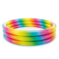 Rainbow Ombre Pool 3 Ring