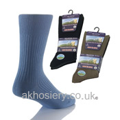 Mens Non Elastic Socks Cotton