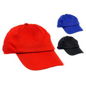 Childrens Plain Baseball Cap
