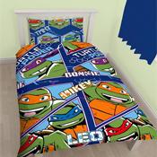 Teenage Mutant Ninja Turtles Single Duvet Set