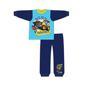 Boys Toddler JCB Snuggle Fit Pyjamas