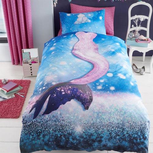 Mermaid Panel Duvet Set