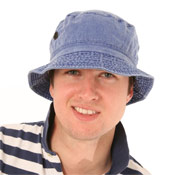 Adult Denim Bush Hats