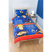 Fireman Sam Duvet Sets Blue