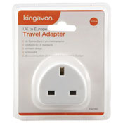 UK to Europe Travel Adapter