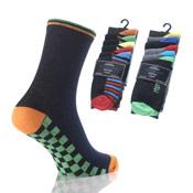 Childrens Socks Boys 5 Pair Pack