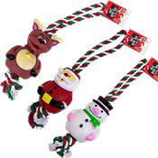 Christmas Design Rope Dog Toy