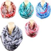 Loop Fashion Scarf Dandelion Print