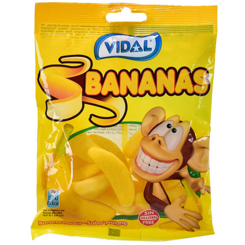 Banana Fruit Sweets 100g Bag