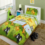 Childrens Fun Filled Bedding - Cheeky Monkey