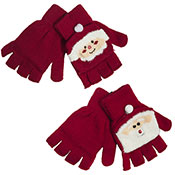 Ladies Christmas Novelty Mitten Gloves