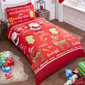 Childrens Christmas Bedding - Christmas Night
