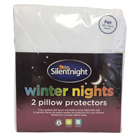 2 Silent Night Pillow Protectors