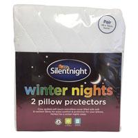 2 Silent Night Pillow Protectors