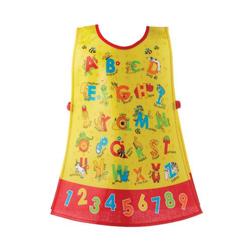 Kids ABC Alphabets PVC Tabard Apron