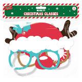 Christmas Glasses 4 Pack