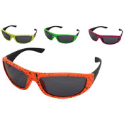 Kids Plastic Black Dot Frame Sunglasses
