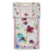 Chatsworth Floral Double Oven Glove