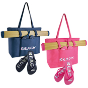 Beach Bag, Mat and Free Flip Flops