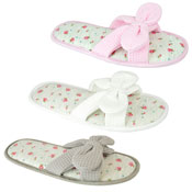 Ladies Waffle Soft Mule Summer Slippers