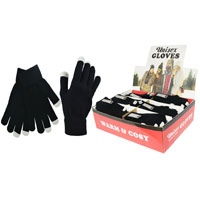 Unisex Touchscreen Magic Gloves Display Box
