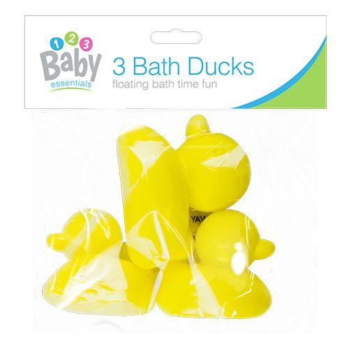 Bath Time Ducks 3 Pack
