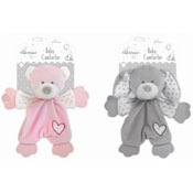 Baby Bear/Rabbit Design Plush Toy Comforter