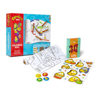 Cbeebies Colouring Roll
