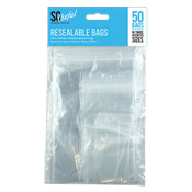 Resealable Bags 50 Packs
