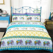 Jaipur Blue Duvet Set